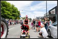 Greytown Xmas Parade - Felicity Robinson one of Vicki's Quackers..